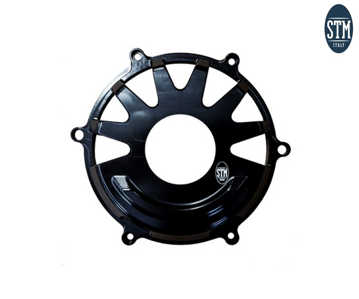 CDU-N400 Dry Clutch Cover Panigale V4 Slotted Stm Color Black Ducati
