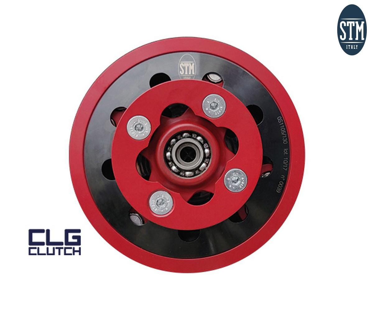 KHN-021 Kit Clg Clutch + Carter Stm Color Red Honda 450 2019
