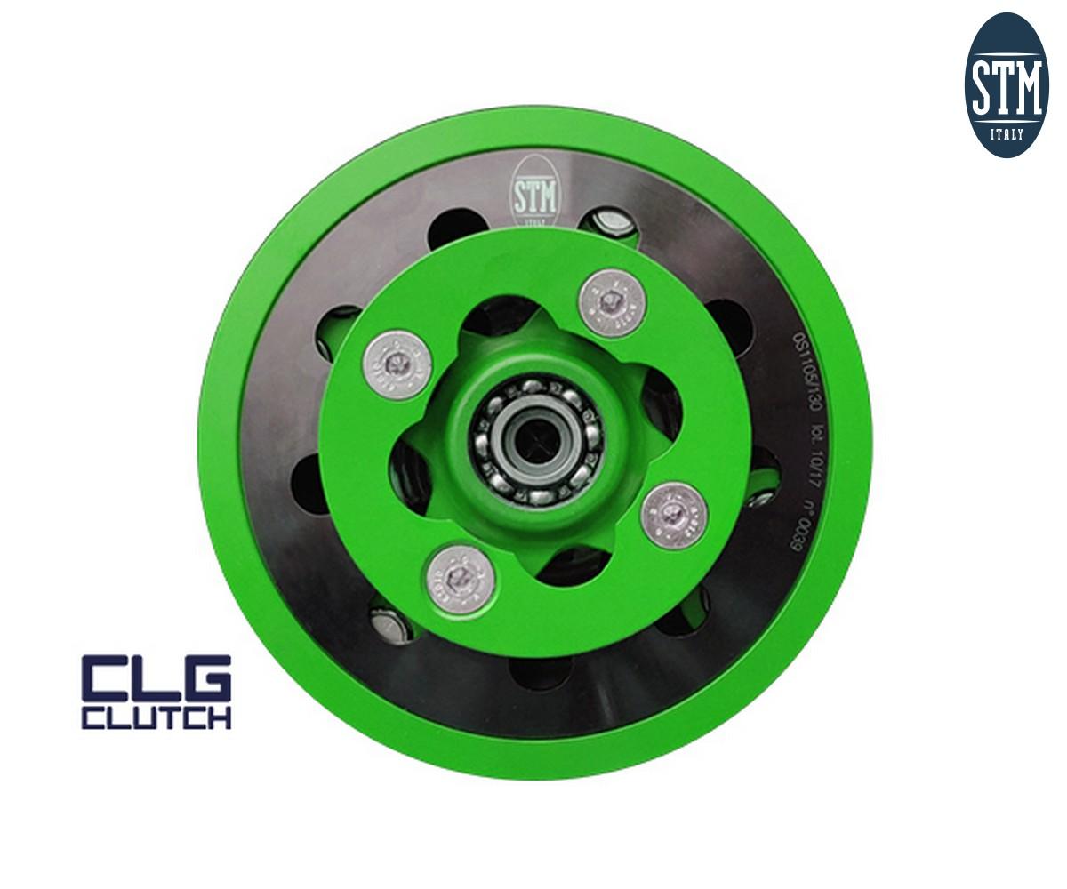 KKW-020 Kit Clg Clutch + Carter Stm Color Green Kawasaki  KX 450 F 2019