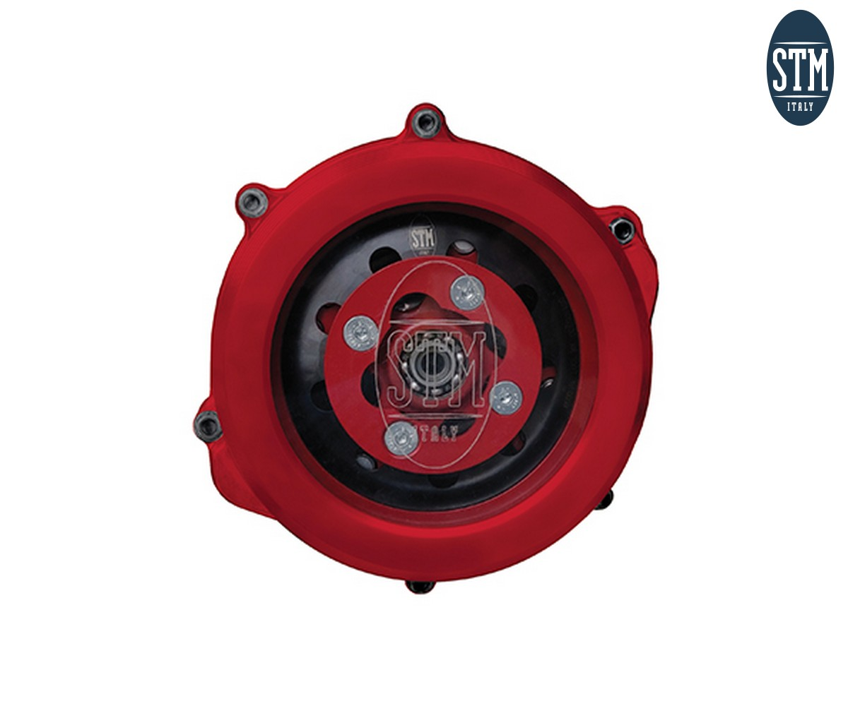 OHN-010 Trasparent Clutch Cover Stm Color Red Honda 250 2019