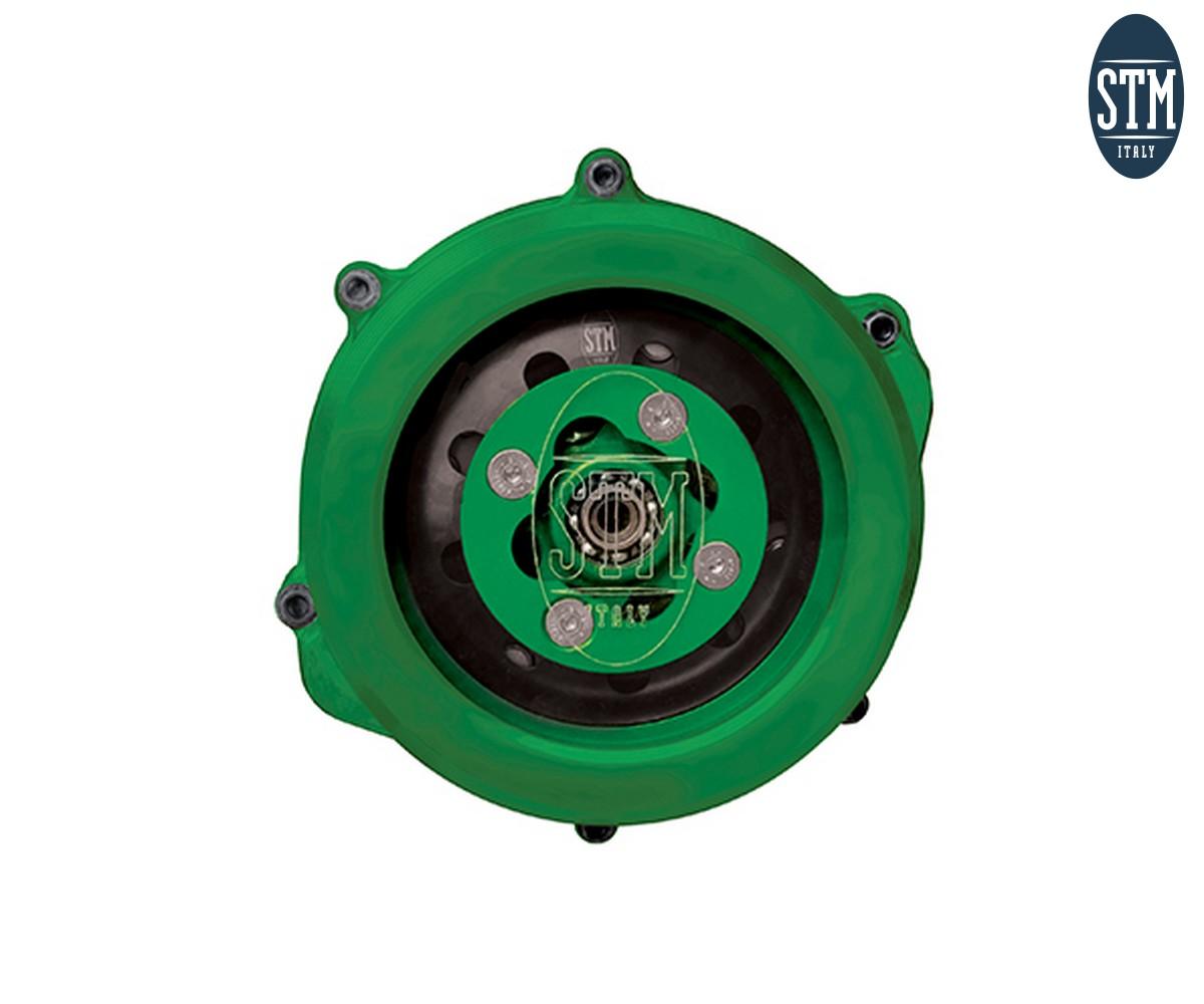 OKW-020 Trasparent Clutch Cover Stm Color Green Kawasaki KX 450 F 2019