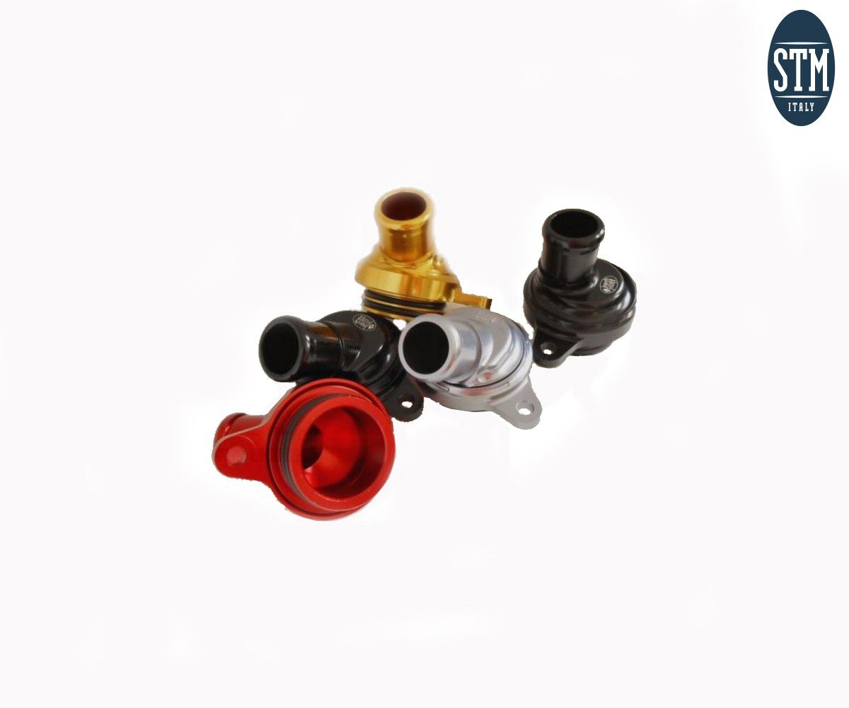 SDU-R081 Oil Breather Racing Version Stm Color Red Ducati 848 2007 > 2013
