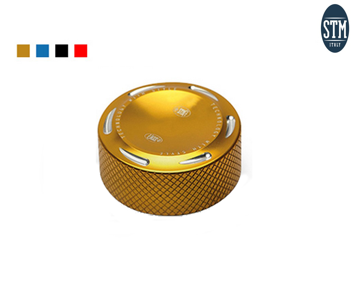 SUN-G290 Oil Reservoir Cap Rear Brake Nissin Stm Color Gold Kawasaki ZX 6R 2007