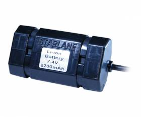 STARLANE 7.4V 2.2Ah Li-Ion battery to be charged only with the specific charger code: BCLIMV