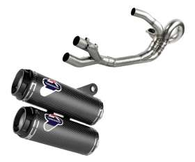 Ducati Monster1200 2017 > 2018 Full System Termignoni Exhaust Carbon 96481211A