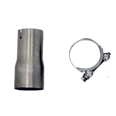 BW05 Bmw R 1200 Gs 2005 > 2009 Link Pipe For Bw02 Termignoni Racing Stainless Steel