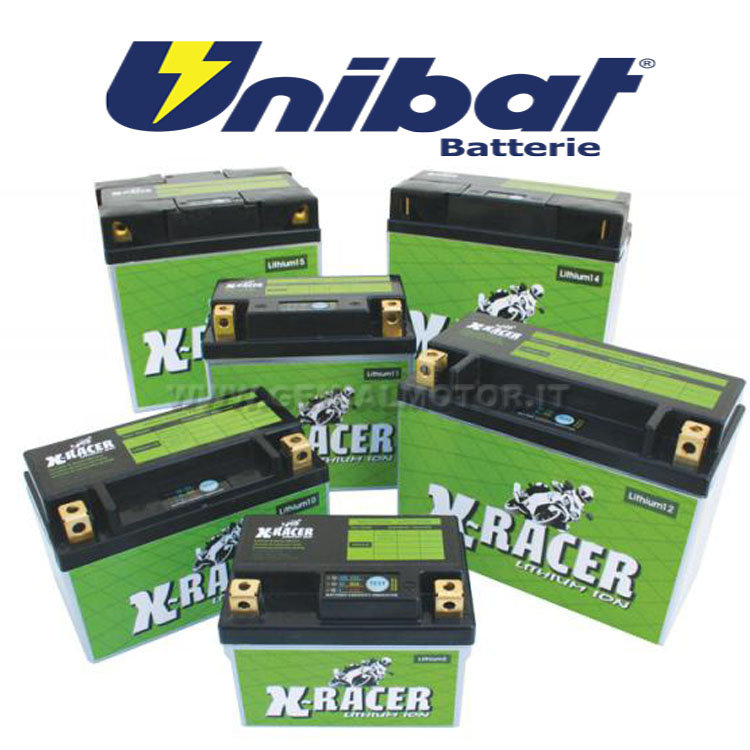 LITHIUM_5 Suzuki Dr-z400, E, S, Sm Batteria Litio X-racer Unibat