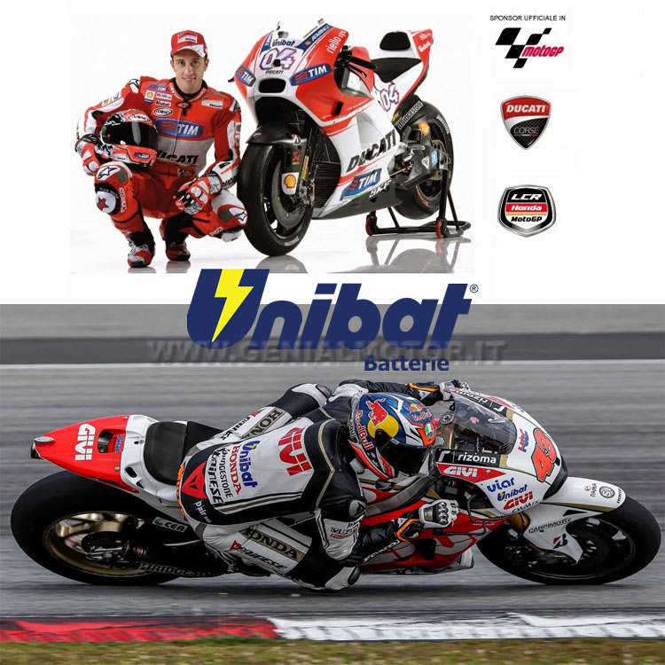 Ducati Monster Batterie X-racer Unibat