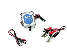 Unibat battery charger specific for Lithium batteries for Motorcycle Car Boat Motorsled Quad - BMS Reset Function