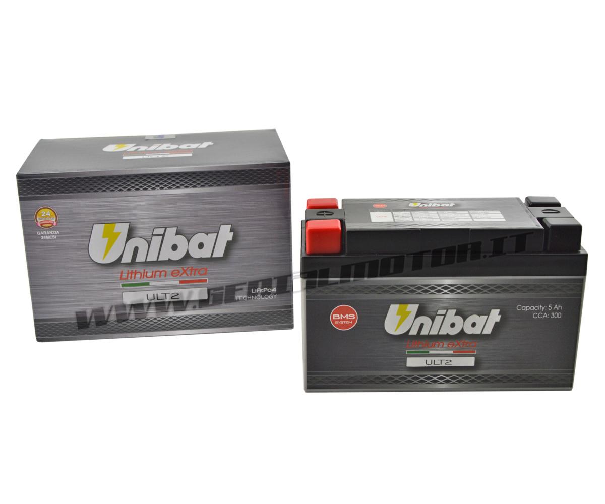 Batteria a Litio Unibat ULT2 300A per KTM RC 4T 2014 > 2016 YTX9-BS