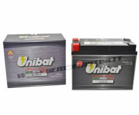 Bateria de litio Unibat ULT4 480A para YAMAHA XV ROAD STAR MIDNIGHT 1999 > 2003 YTX20HL-BS