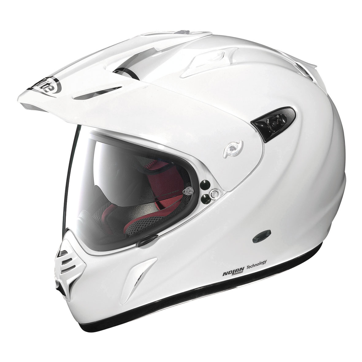 CASCO X LITE X-551 GT START N-COM 3 METAL WHITE