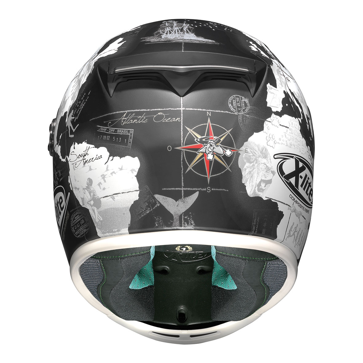 x lite helmet x 802rr replica 37 flat black genial motor s r l. Black Bedroom Furniture Sets. Home Design Ideas