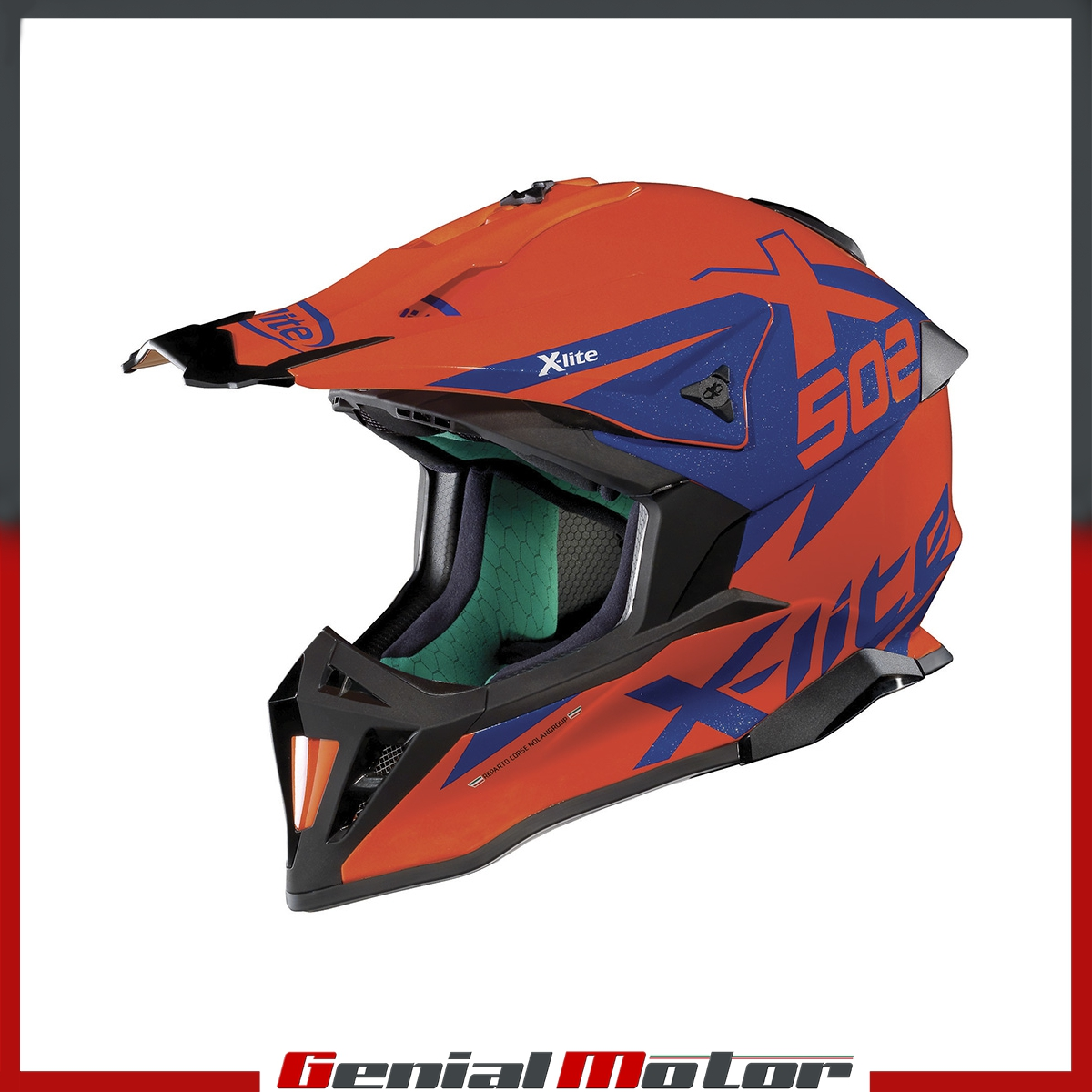CASQUE-X-LITE-X-502-MATRIS-017-TAILLE-M-LED-ORANGE