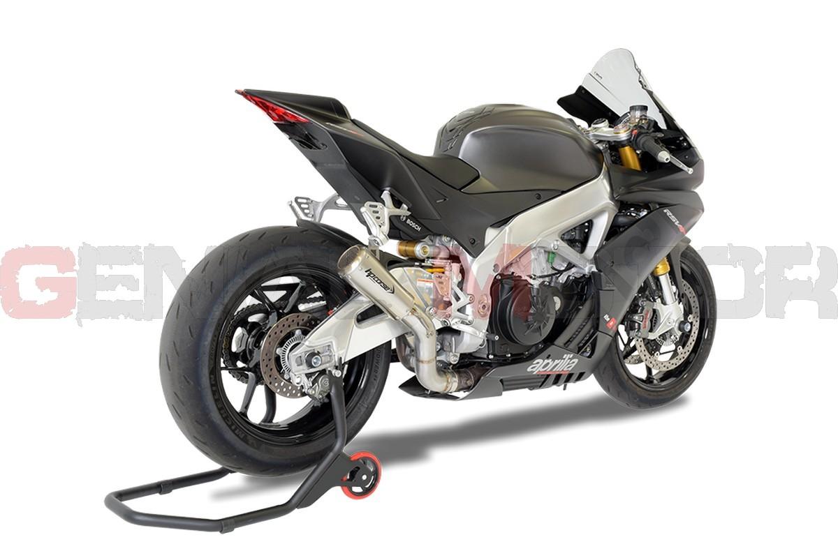 XAPGP1002SR-N-AB Pot D'Echappement Hp Corse Gp07 Satin Aprilia Rsv4 2015 > 2016