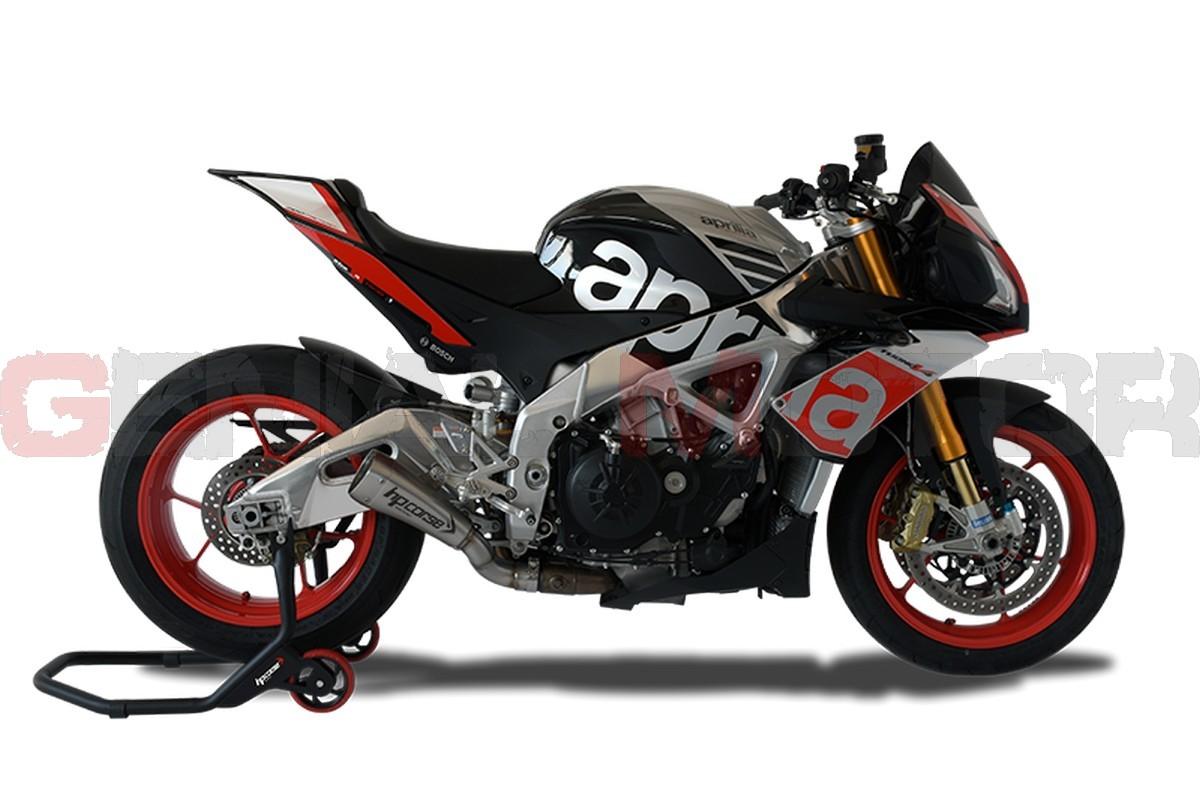Xaphy2001s N Ab Exhaust Hp Corse Hydroform Srt Satin Aprilia Tuono V4 1100 2015 2016