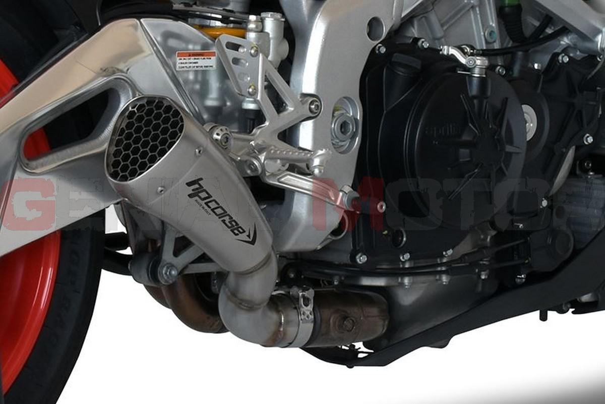 Exhaust Hp Corse Hydroform Srt Satin Aprilia Tuono V4 1100 2015 2016 Ebay