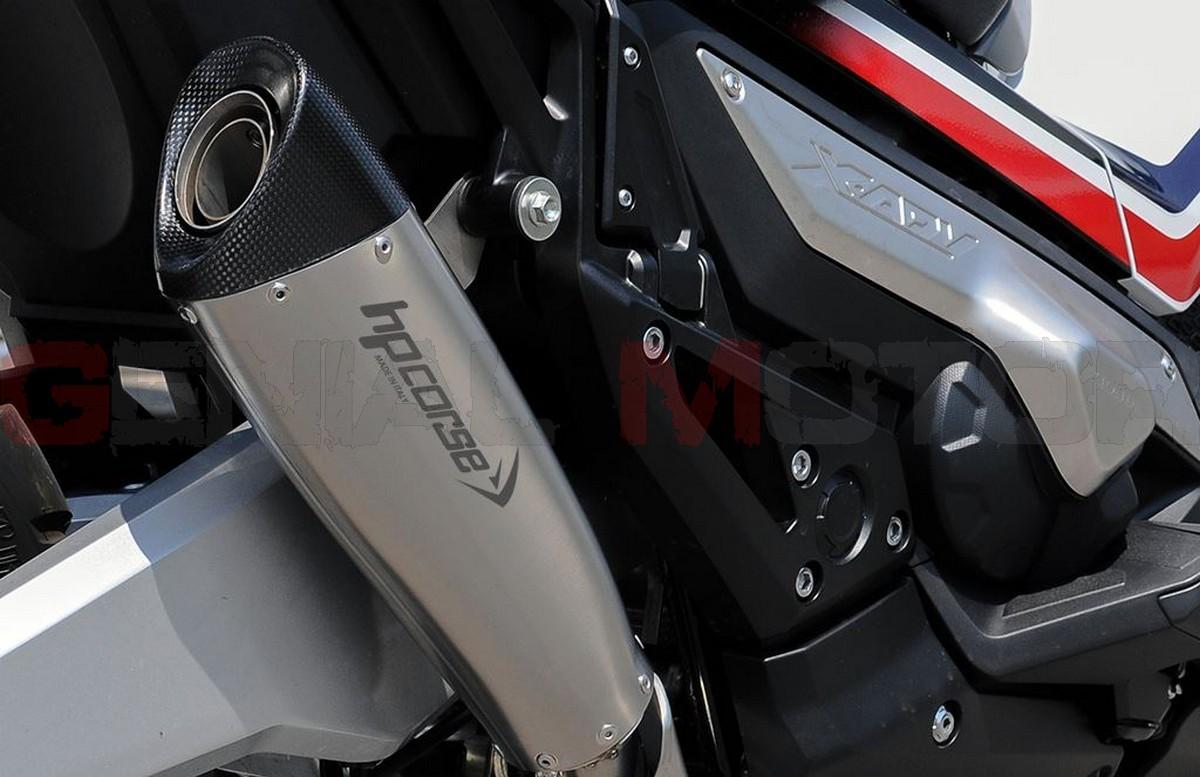 Exhaust Hp Corse Evoxtreme 360 Satin Honda X - Adv 750 2017 > 2019