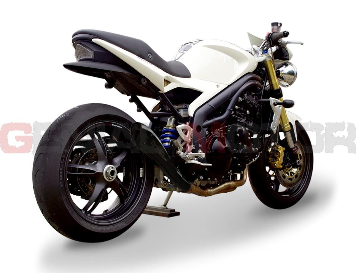 Exhaust Hp Corse Hydroform Black Triumph Speed Triple 2005 > 2006