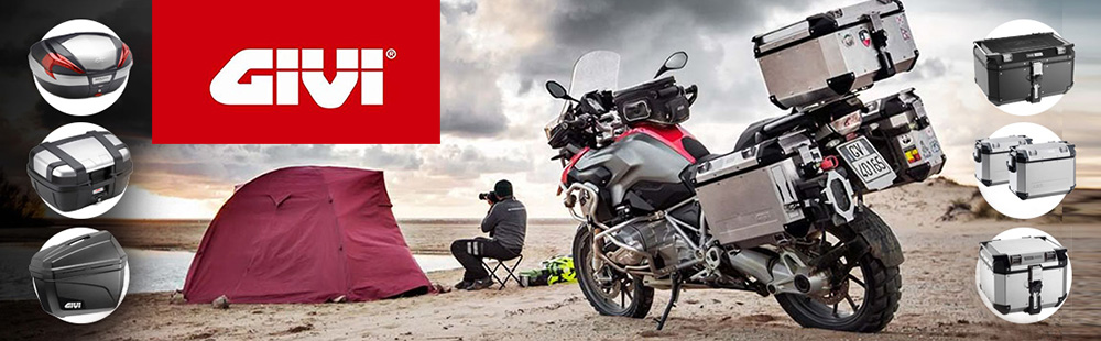 Soft Bags, Cases, Hard Bags, Helmets, Motorbike Accessories - GIVI