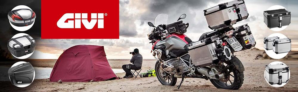Bolsas blandas, estuches, bolsas duras, cascos, accesorios para motos - GIVI