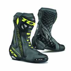 STIVALI TCX RACING 7655 RT RACE NERO FLUO GIALLO