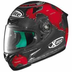 CASCO X LITE X-802RR ULTRA CARBON REPLICA 1 C.CHECA - CARBON
